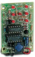 """Byggesæt og moduler, <span class=""""c10"""">Velleman -</span> MK109 Elektronisk terning"""