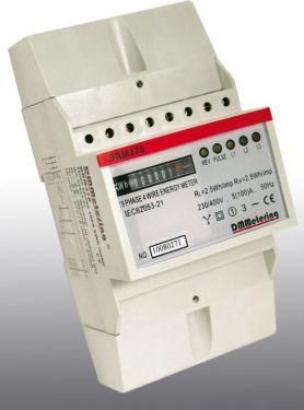 Elmåler (bimåler) 3-faset 230/400V 50/60Hz med mekanisk disp