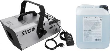 Eurolite Set Snow 6001 Snow machine + Snow fluid 5l
