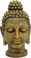 Haven, Europalms Head of Buddha, antique-gold, 75cm