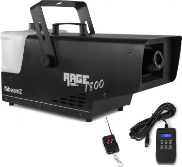 Rage 1800 Snow Machine with Wireless and Timer Controller