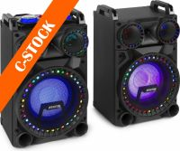 "VS10 Active Speaker Set 10"" Bluetooth, LED800W ""C-STOCK"""