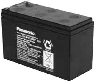 "<span class=""c90"">Panasonic -</span> Blybatteri 12V / 5,4Ah UP-PW1245P1 VDS (Panasonic)"