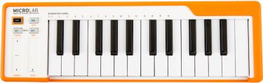 ARTURIA MICROLAB-ORANGE USB Controller keyboard.