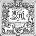 Musikinstrumenter, Ernie Ball EB-1536, Single E6 (6th) Ernesto Palla Silver Wound stri