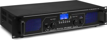 FPL1500 Digital Amplifier Blue LED + EQ