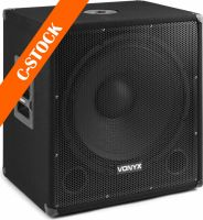 "SMWBA18MP3 Bi-AMP Subwoofer 18inch/1000W & Bluetooth ""C-STOCK"""