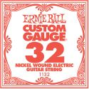 Musikinstrumenter, Ernie Ball EB-1132, Single .032 Nickel Wound string for Eletric gui