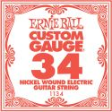 Musikinstrumenter, Ernie Ball EB-1134, Single .034 Nickel Wound string for Eletric gui