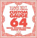 Musikinstrumenter, Ernie Ball EB-1164, Single .064 Nickel Wound string for Eletric gui