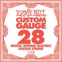 Musikinstrumenter, Ernie Ball EB-1128, Single .028 Nickel Wound string for Eletric gui