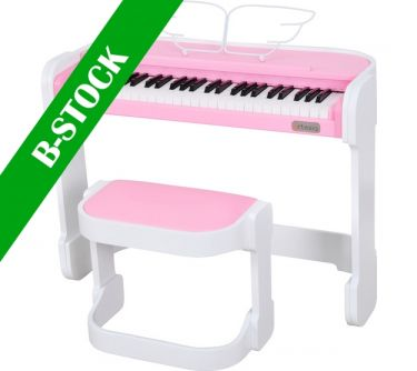 """Artesia AC49PNK Pink piano incl. stand, Music is Fun and so is theA """"B-STOCK"""""""