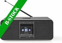 "Nedis Internetradio | 42 W | Internetradio med dab | FM | Bluetooth® | Sort, RDIN5000BK ""B-STOCK"""