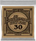 Musikinstrumenter, Ernie Ball EB-1830, Single .030 Wound Earthwood Phosphor Bronze str