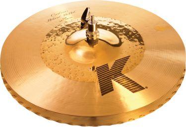 """Zildjian 14-1/4"""" K Custom Hybrid Hihat"""