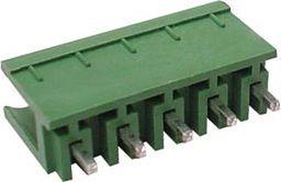 Printstik Han, 5 pol, 5mm benafstand, 300V/10A
