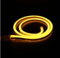 Vandtæt neon LED lysslange (IP67) 240Vac / 29W, GUL (5m)