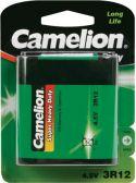 """Batterier og tilbehør, <span class=""""c10"""">Camelion -</span> Camelion Zink Carbon 3R12 4,5V / 2700mAh (1 stk.)"""