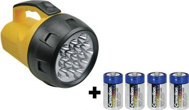 "<span class=""c90"">PEREL -</span> LED håndprojektør 16 kraftige dioder"