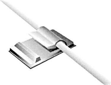"<span class=""c10"">Velleman -</span> Selvklæbende kabelholder 3,5 3,8mm hul (10 stk.)"