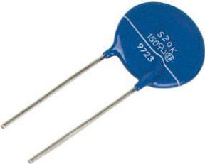 Varistor (VDR) 95VAC / 125VDC, 150V (5mm) Type 7D151