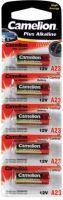 """Batterier og tilbehør, <span class=""""c10"""">Camelion -</span> Camelion Alkaline LR23/GP23/V23 bat. 12V / 33mAh (5 stk.)"""
