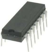 SN74F00 digital, NAND, 4 kanaler, 2 inputs (DIP14)