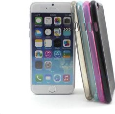 """TPU cover til iPhone 6/6S (4,7"""") Soft Touch, Sort"""