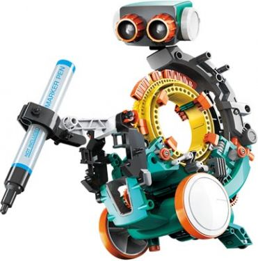 "<span class=""c10"">Velleman -</span> KSR19 5-i-1 robotkit (238 dele)"