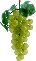 Udsmykning & Dekorationer, Europalms Grapes with leaves, artificial, green