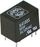 Miniature relæ 24VDC / 3A, 1 x omskifter (N4100S)