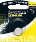 """Batterier og tilbehør, <span class=""""c10"""">Tecxus -</span> Tecxus CR1220 Lithium knapcelle, 3V / 35mAh (1 stk.)"""