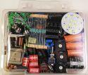 Div. sortimenter, Elektronikkomponent lykkepakke 400g