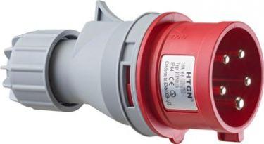 CEE kraftkabel fasevenderstikprop 400V / 16A 5P (IP44)