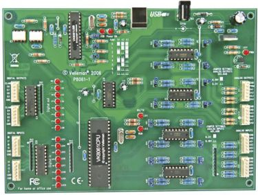 "<span class=""c10"">Velleman -</span> VM140 Udviddet USB interface kort"