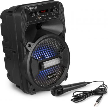 """FPC8 Portable Party Speaker Rechargeable 8"""""""