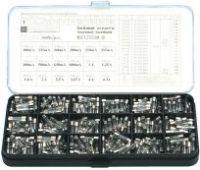 Sikringssortiment 360 stk. 5x20mm, Flink (0,1A 6,3A)