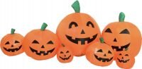 Europalms Inflatable Figure Pumpkin Family, 95cm