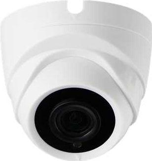 HD-TVI/CVI/AHD domekamera 2MP, Zoom, 20m IR, Hvid (IP20)