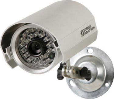 Farve projektilkamera 20m IR, 420 TV linjer (IP65)