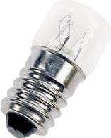 "<span class=""c9"">Bailey lights -</span> Rørlampe 230V / 5-7W, E14 sokkel, Klar (16x35mm)"