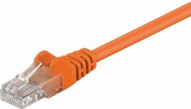 """<span class=""""c9"""">GOOBAY -</span> UTP netværkskabel CAT5E, 2 x RJ45, Orange (5m)"""