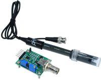 PH sensormodul (0-14) + PH probe m. BNC stik (til Arduino)