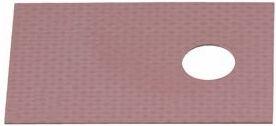 Varmeledende silikoneisoleringsplade til TO220 hus