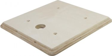 Alutruss Wooden Panel 490x490x30mm cable bushing