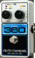 Guitar- og baseffekter, Electro Harmonix Nano Looper 360, Looper with up to 360 seconds of