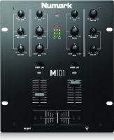 Numark M101BLACK, 2-Channel All-Purpose Mixer