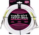 Kabler, Ernie Ball EB-6047 Instrument Cable, 6 meter superior instrument ca
