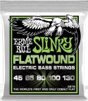 Bas Strenge, Ernie Ball EB-2816, Flatwound 5-str Regular Slinky 45-130