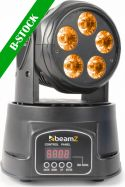 "MHL-90 Mini Moving Head Wash 5x 18W RGBAW-UV LEDs ""B-STOCK"""
